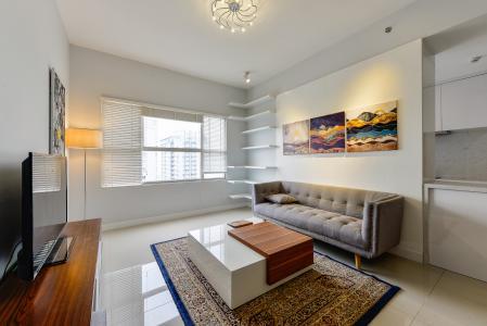 Căn hộ Sunrise City 2 phòng ngủ tầng cao W3 đầy đủ tiện nghi