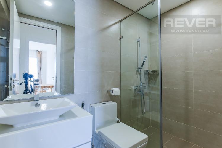 Phòng Tắm 2 Cho thuê căn hộ Masteri Millennium tầng trung, 2PN, nội thất đầy đủ