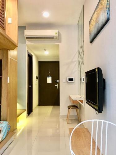 Căn hộ The Tresor nội thất đầy đủ tiện nghi, view nội khu yên tĩnh.