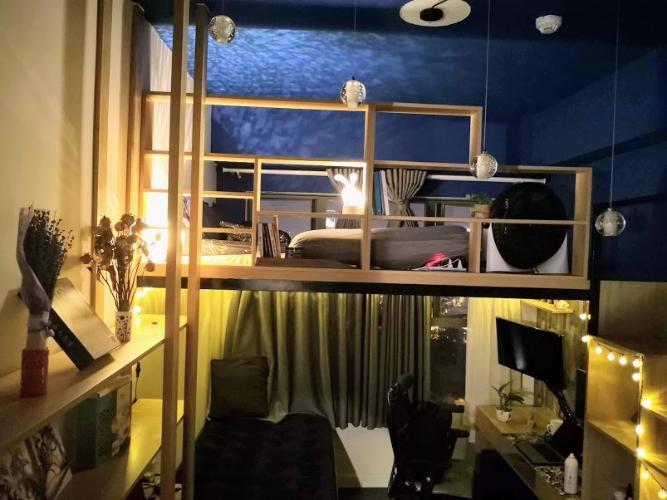 Nội thất căn hộ The Sun Avenue Căn hộ Vinhomes Grand Park tầng 24, bàn giao nội thất đầy đủ.