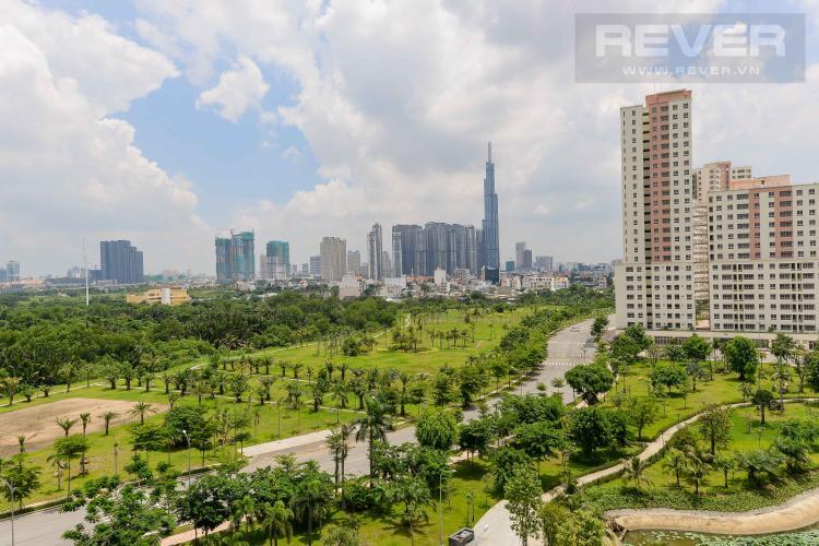 View Cho thuê căn hộ New City Thủ Thiêm 2PN, tháp Venice, đầy đủ nội thất, view Landmark 81