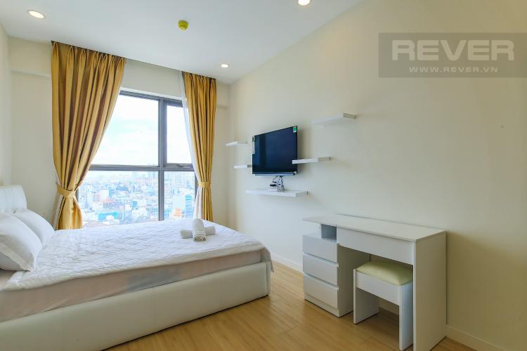 Phòng Ngủ 1 Cho thuê căn hộ Masteri Millennium tầng trung, đầy đủ nội thất, 2PN