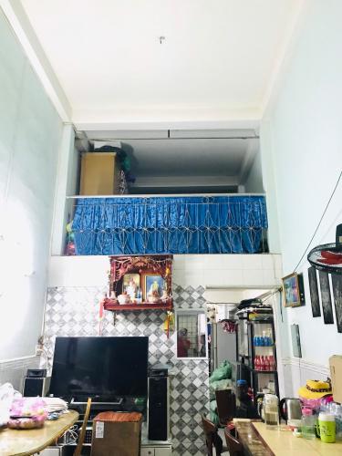 phòng khách nhà phố quận 4 Nhà phố hẻm Đoàn Văn Bơ diện tích 3.14m x19.7m