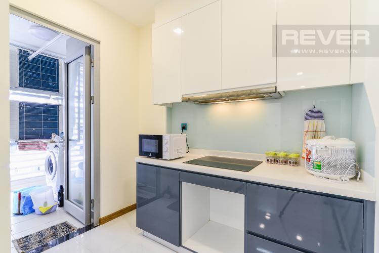 Nhà Bếp Căn hộ Vinhomes Central Park 2 phòng ngủ tầng cao P4 nội thất đầy đủ