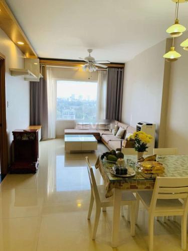 Căn hộ Saigonres Plaza tầng trung, đầy đủ nội thất.