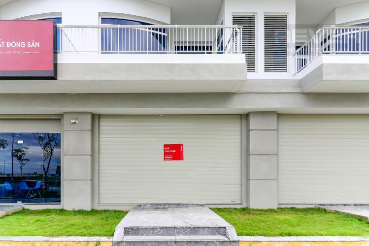 Mặt Tiền Nhà Cho thuê văn phòng 2 tầng Thủ Thiêm Lakeview 5PN, mặt tiền đường Ven Hồ Trung Tâm, hoàn thiện mặt ngoài
