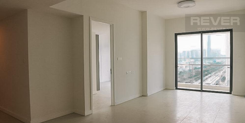 Phòng khách căn hộ GATEWAY THẢO ĐIỀN Bán hoặc cho thuê căn hộ Gateway Thảo Điền 2PN, tầng 18, nội thất cơ bản, view sông và Xa lộ Hà Nội