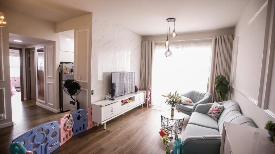 Phòng khách Lexington Residence Quận 2 Căn hộ Lexington Residence tầng trung, view Landmark 81.