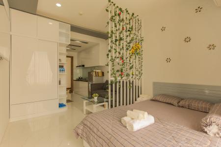 Officetel RiverGate Residence 1 phòng ngủ tầng trung tháp B hướng Đông Bắc
