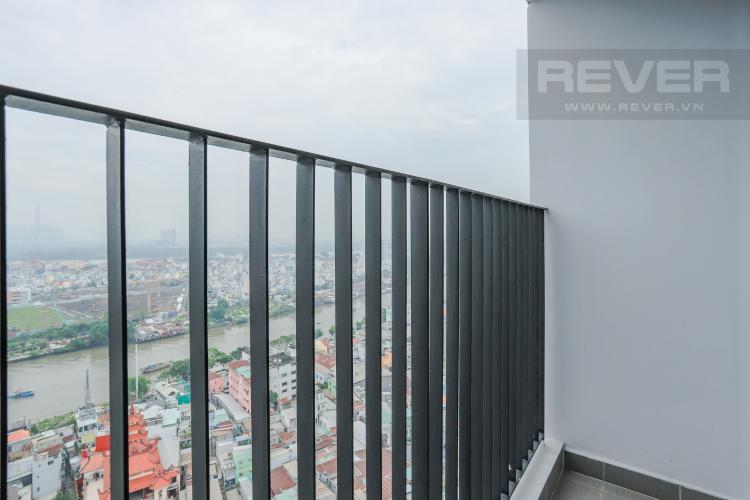 Ban Công Bán căn hộ M-One Nam Sài Gòn tầng cao, 2PN view sông