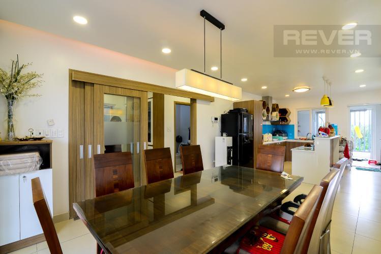 Bếp - Lầu 3 Bán nhà phố 3 tầng, đường Cao Đức Lân, An Phú, Quận 2, đầy đủ nội thất, sổ hồng chính chủ