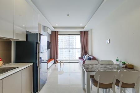 Căn hộ Masteri Millennium tầng cao 2PN đầy đủ nội thất view sông