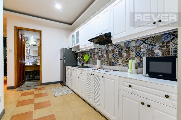 Nhà Bếp Cho thuê căn hộ chung cư Phúc Thịnh diện tích 196m2 3PN 3WC, nội thất cao cấp, view thành phố