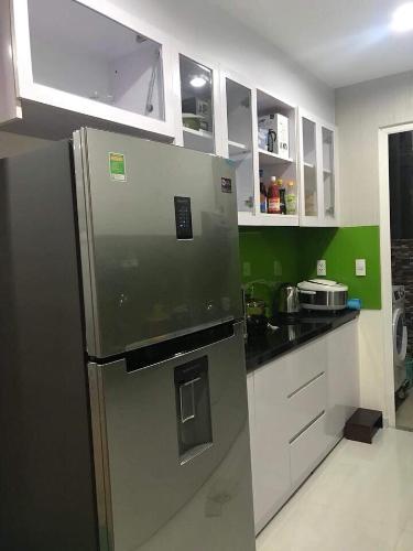Phòng bếp City Gate, Quận 8 Căn hộ City Gate tầng cao, trang bị nội thất đầy đủ.