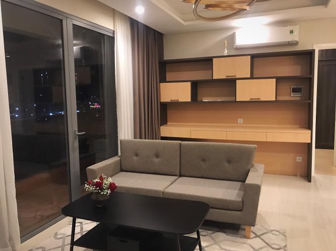 Phòng khách căn hộ DIAMOND ISLAND - ĐẢO KIM CƯƠNG Cho thuê căn hộ Diamond Island - Đảo Kim Cương 2PN, tầng thấp, đầy đủ nội thất, view hồ bơi