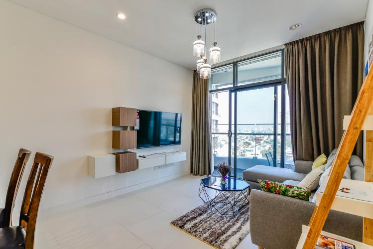 Căn hộ City Garden 1PN, view đẹp, nội thất đầy đủ