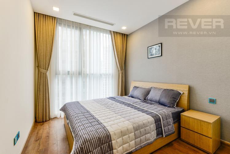 Phòng ngủ 3 Căn hộ Vinhomes Central Park tầng cao, tháp Park 3, 3 phòng ngủ, view sông