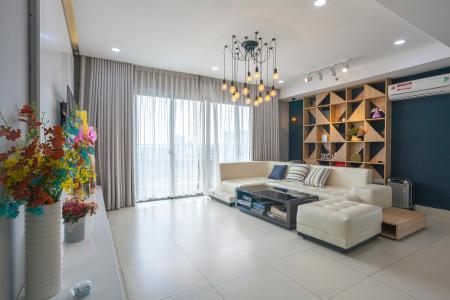 Căn hộ Masteri Thảo Điền 3 phòng ngủ tầng thấp T5 nội thất đầy đủ