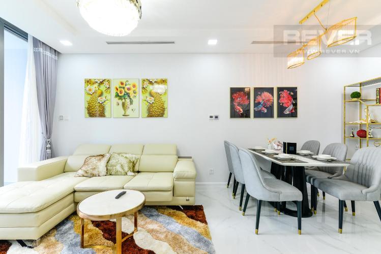 e8712f2ba72841761839 Cho thuê căn hộ Vinhomes Central Park 2PN, tháp Landmark 81, đầy đủ nội thất, hướng Đông Nam, view hồ bơi