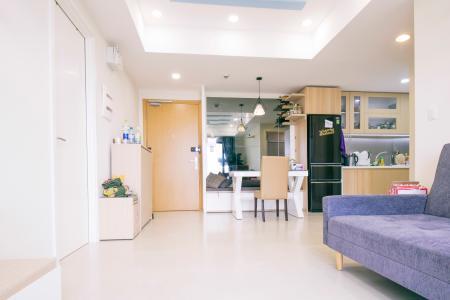 Căn hộ Masteri Thảo Điền 2 phòng ngủ tầng trung T4 nội thất đầy đủ