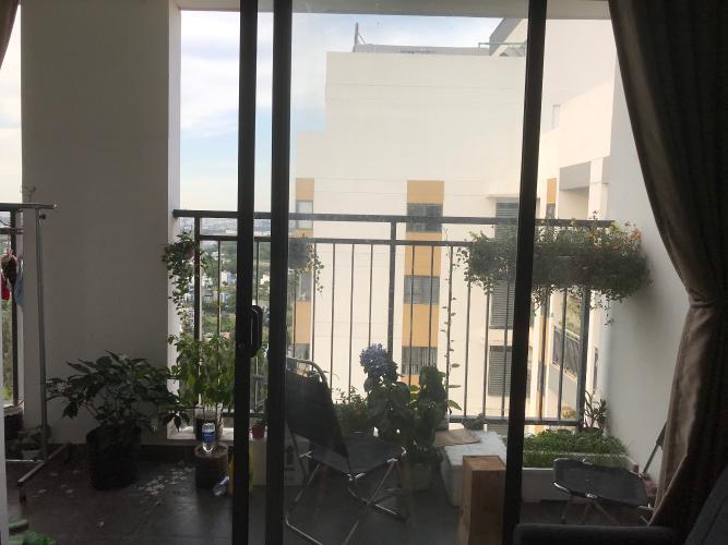 Ban công căn hộ Thủ Thiêm Garden Căn hộ Thủ Thiêm Garden hướng cửa Tây Nam, nội thất cơ bản.