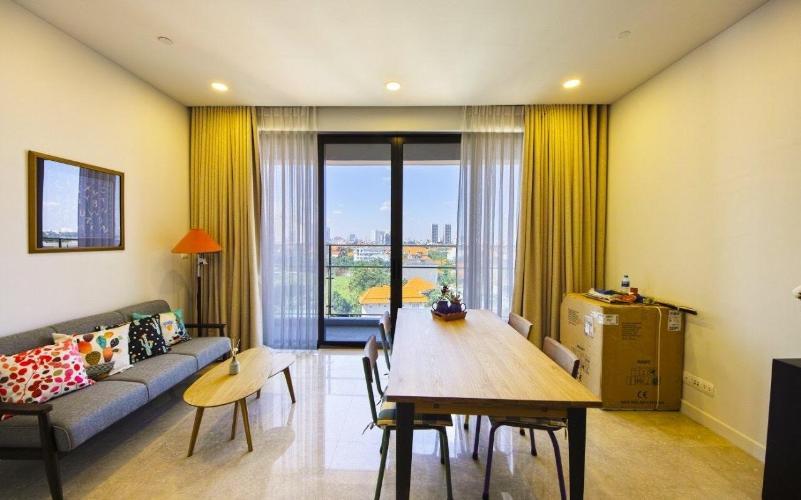 Căn hộ Nassim Thảo Điền tầng trung, view thành phố.