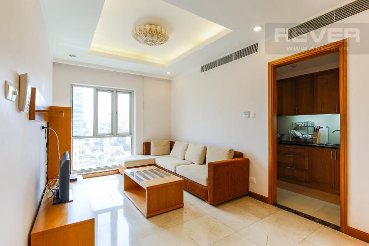 Phòng Khách Căn hộ Saigon Pavillon 2 phòng ngủ tầng thấp đầy đủ tiện nghi