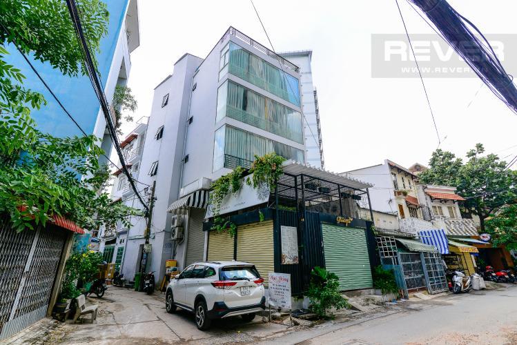 Mặt Tiền Nhà Bán nhà đường nội bộ Điện Biên Phủ, Q.Bình Thạnh, hẻm xe hơi, 4 tầng, diện tích 120m2