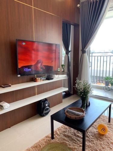 Phòng khách Golden Mansion, Phú Nhuận Căn hộ Golden Mansion tầng 3, view thành phố thoáng mát.