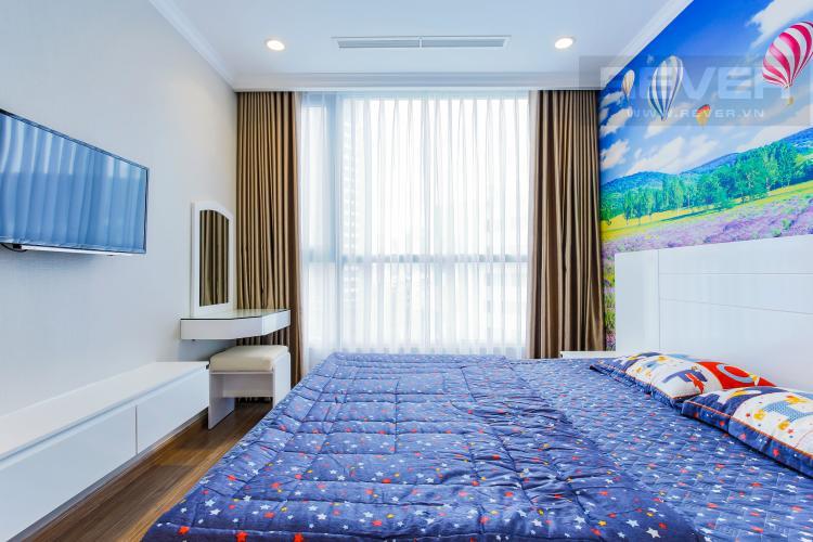 Phòng Ngủ 2 Căn hộ Vinhomes Central Park tầng thấp Landmark 2 thiết kế đẹp, đầy đủ nội thất
