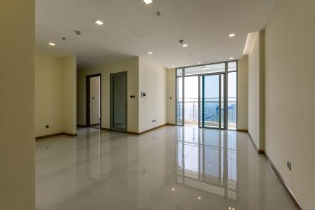 Căn hộ Vinhomes Central Park 2 phòng ngủ, tầng cao P7, chưa có nội thất