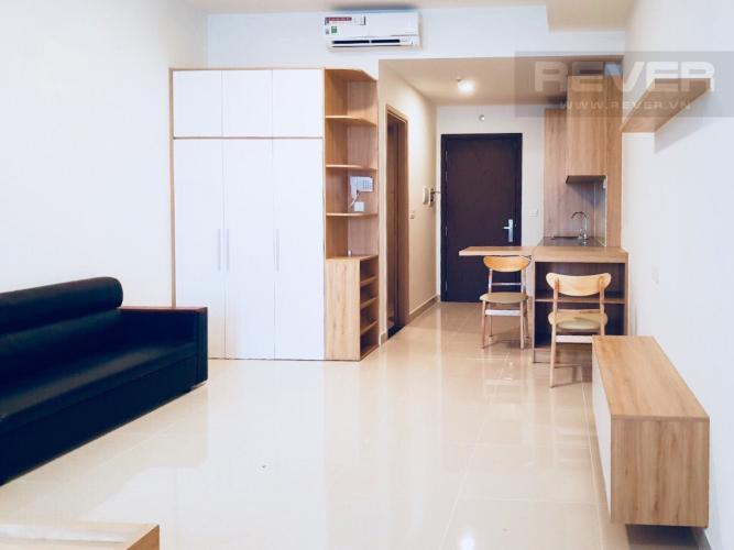 Phòng Khách Cho thuê căn hộ Sunrise CityView 1PN, tầng thấp, diện tích 38m2, đầy đủ nội thất
