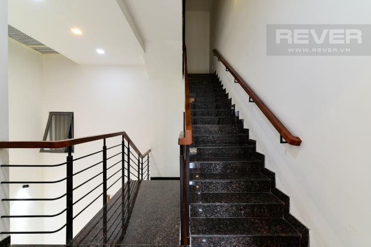 Lối Lên Tầng Trên Bán nhà phố KDC Khang An - Phú Hữu - Quận 9, 3 tầng, diện tích 149m2, sổ hồng chính chủ