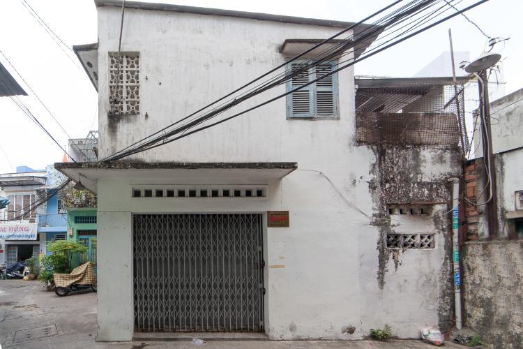 Nhà phố 2 phòng ngủ đường Bến Vân Đồn Quận 4 diện tích 40m2