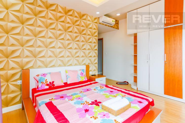 Phòng Ngủ 1 Căn hộ Sunrise City tầng thấp W3 thiết kế 2 phòng ngủ thông thoáng