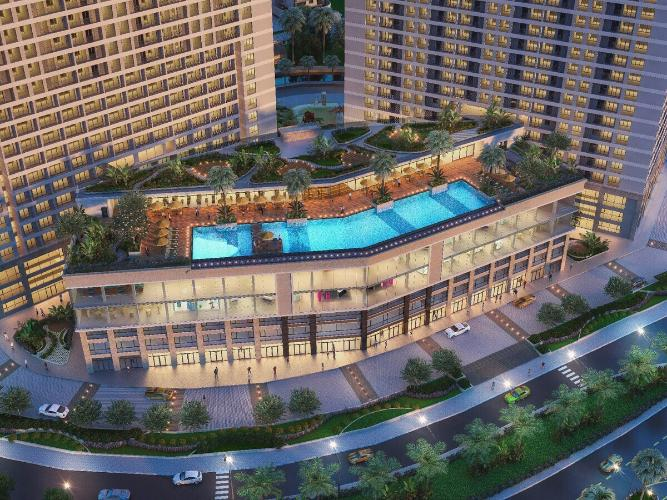 Toàn cảnh dự án Lavida Plus Bán căn hộ Lavida Plus Q7 tầng cao view đẹp, diện tích 96m2, kết cấu 3 phòng ngủ và 2 phòng tắm, không nội thất.