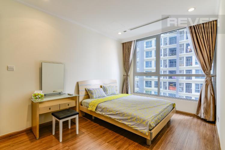 Phòng Ngủ Căn hộ Vinhomes Central Park 1 phòng ngủ tầng trung L5 nội thất đầy đủ