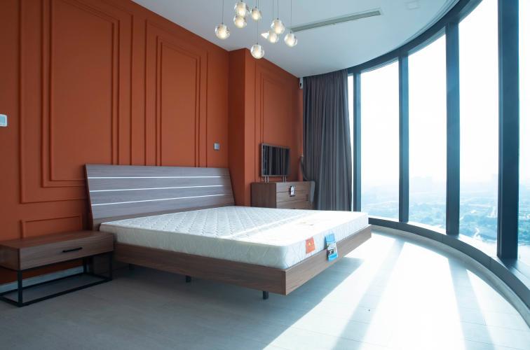 Phòng ngủ Vinhomes Golden River, Quận 1 Căn hộ tầng cao Vinhomes Golden River đầy đủ nội thất.