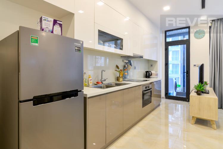 Bếp Bán căn hộ Vinhomes Golden River 1PN tầng cao, đầy đủ nội thất, view sông thoáng mát