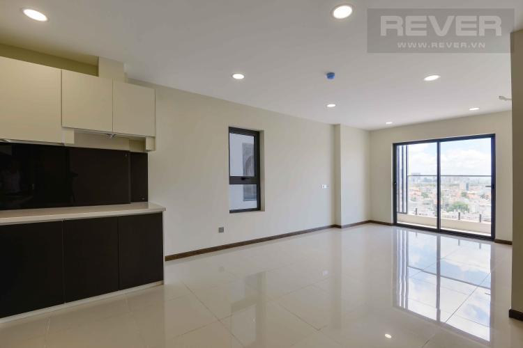 Phòng Khách Bán căn hộ De Capella 2PN, block B, nội thất cơ bản, hướng Tây Bắc, view Landmark 81