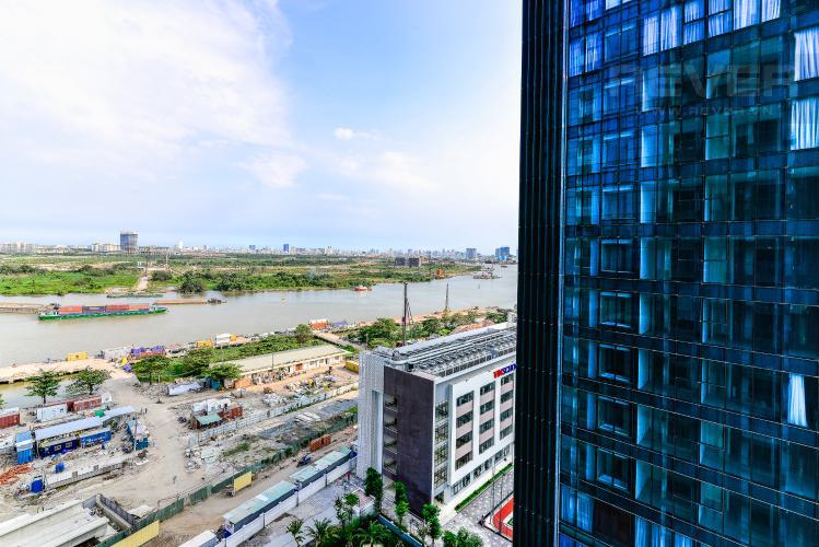View Căn hộ Vinhomes Golden River 3 phòng ngủ tầng trung A4 hướng Tây Nam