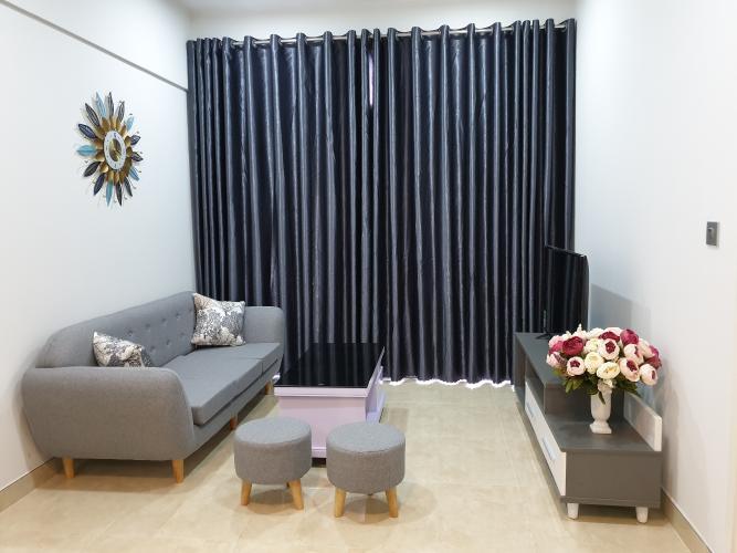 Căn hộ Lux Garden tầng thấp, 2 phòng ngủ, đầy đủ nội thất.