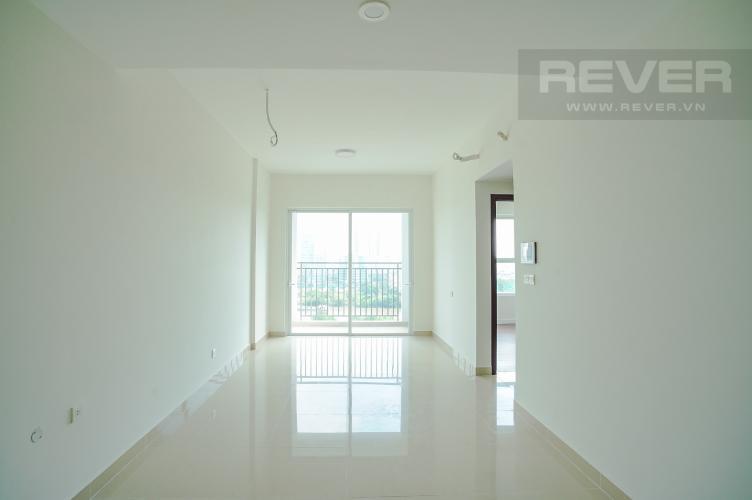Phòng Khách Cho thuê căn hộ Sunrise Riverside 2PN, tầng thấp, hướng Nam, diện tích 70m2, không nội thất