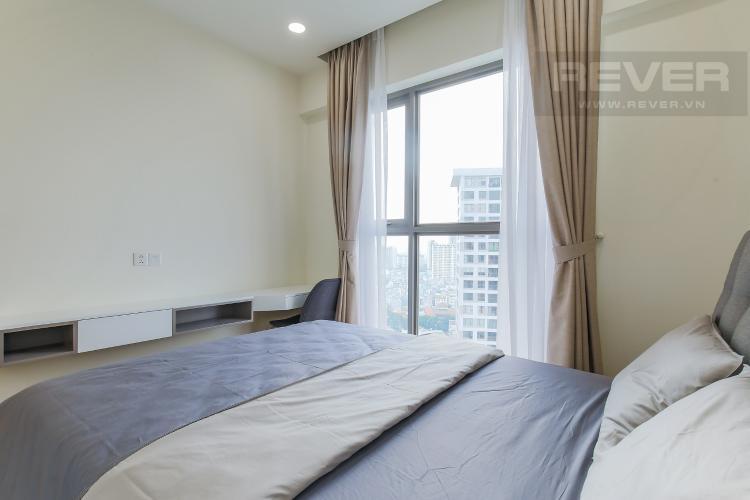 Phòng Ngủ Cho thuê căn hộ Masteri Millennium 1PN 1WC, đầy đủ nội thất, view sông