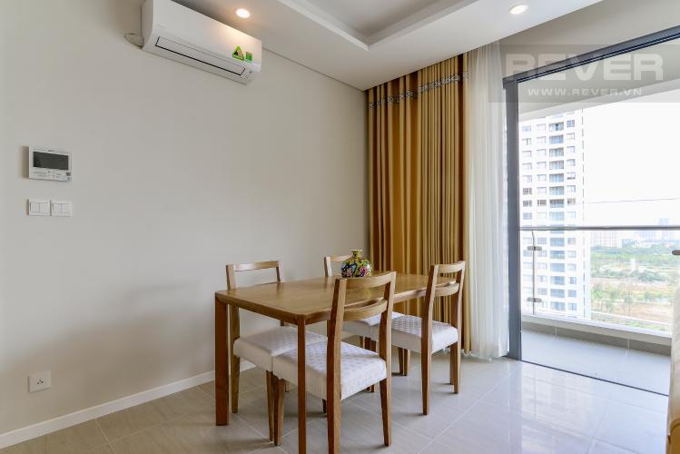 Phòng Ăn Bán căn hộ Đảo Kim Cương 2 phòng ngủ tầng trung tháp Bora Bora, đầy đủ nội thất, view sông và nội khu