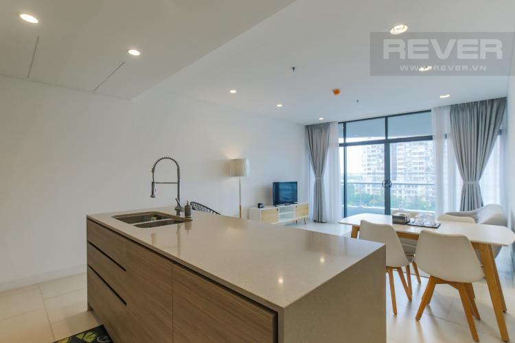 Phòng Bếp Cho thuê căn hộ City Garden 1PN, diện tích 67m2, đầy đủ nội thất