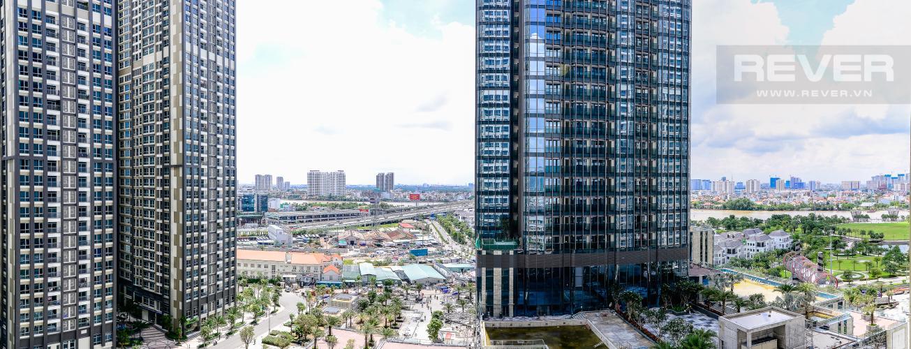View Căn hộ Vinhomes Central Park 1 phòng ngủ tầng cao L3 hướng Đông Bắc