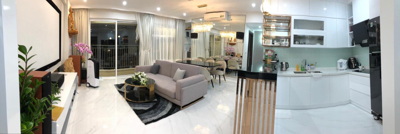 Bán căn hộ Sunrise Riverside  3 phòng ngủ, diện tích 83.15m2, đầy đủ nội thất