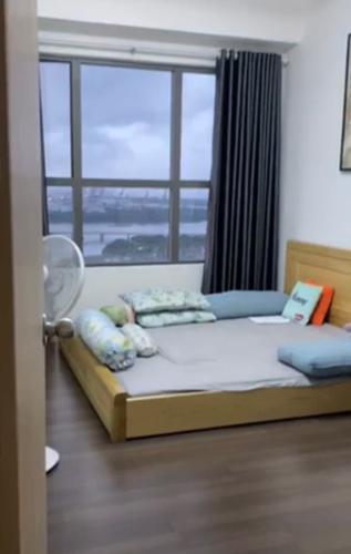 Phòng ngủ căn hộ The Sun Avenue Căn hộ The Sun Avenue tầng cao, đón view nội khu.