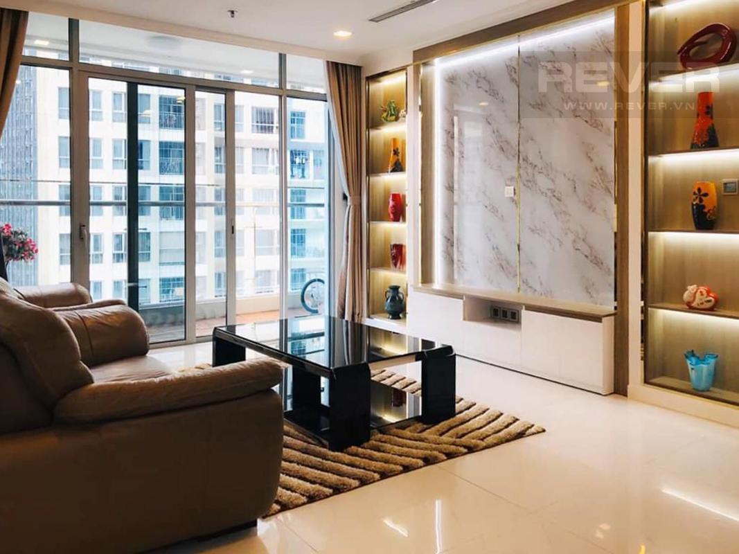 68d2e30b8cfd6aa333ec Cho thuê căn hộ Vinhomes Central Park 4PN, tháp Park 6, diện tích 154m2, đầy đủ nội thất, view sông và công viên